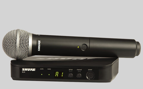 Shure PG58 (BLX24UK/PG58) Wireless System