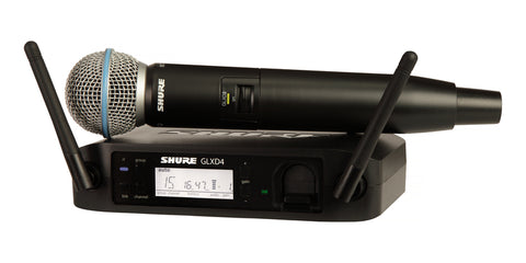 Shure Beta 58 (GLXD24UK/BETA58) Digital Wireless