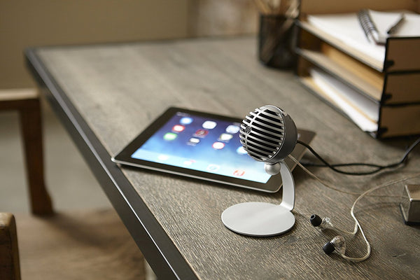 Shure MV5 (Black) Condenser Microphone for iOS and USB