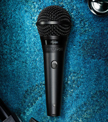 "Shure PGA58 with 1/4"" Jack Cable"