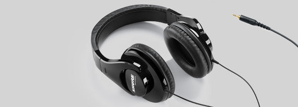 Shure SRH240A Closed-back headphones with full bass
