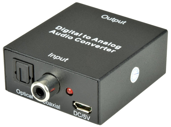 AV Link Digital Audio to Analogue Audio Converter