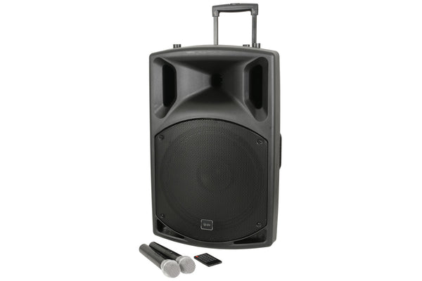 QTX QX15PA Plus - Portable PA with USB/FM and Bluetooth