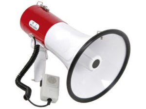 Adastra Megaphone (30W Max) with Siren