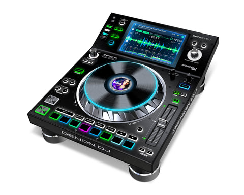 "Denon SC5000 Prime - DJ Media Player with 7"" Multi-Touch Display"