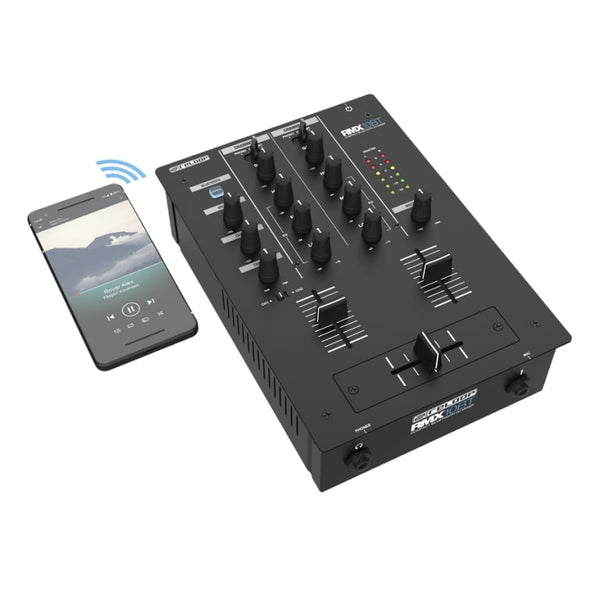 Reloop RMX-10BT Compact 2-Channel DJ Mixer with Bluetooth