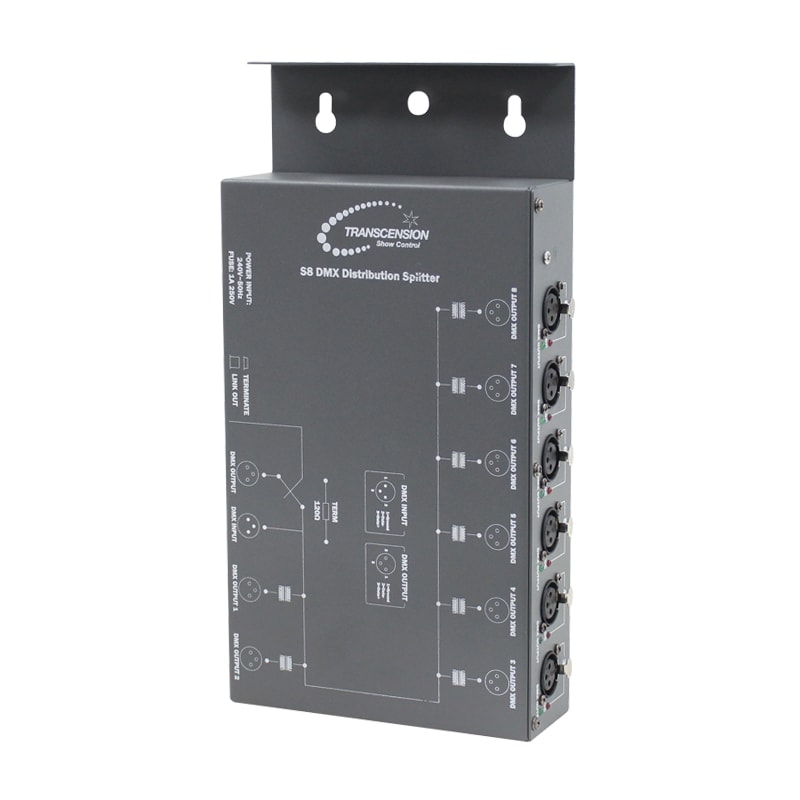 Transcension S8 DMX Distribution Splitter