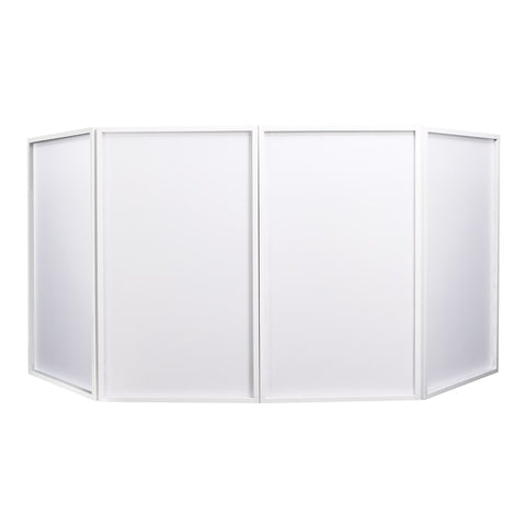 Equinox Foldable DJ Screen MK2 (White)