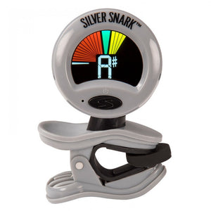 "Snark SIL1 Silver Snark (All Instrument ""Super Tight"" Clip-On Tuner)"