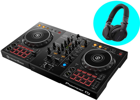 Pioneer DDJ-400 + HDJ-CUE1 Package (ETA Mid Sep 2020)