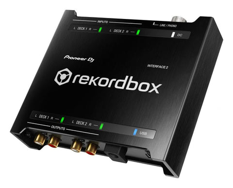 Pioneer Interface 2 - Rekordbox DJ and DVS Audio Interface