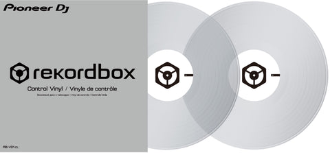Pioneer RB-VD1-CL Rekordbox DVS Control Vinyl - Transparent/Clear (Pair)