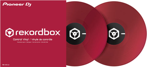 Pioneer RB-VD1-CR Rekordbox DVS Control Vinyl - Red (Pair)