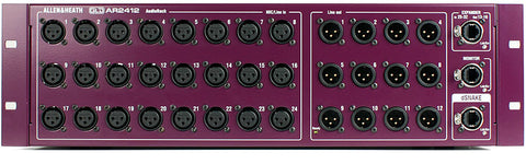Allen and Heath AR2412 Audio Rack (Purple) for GLD / Qu16 / Qu24