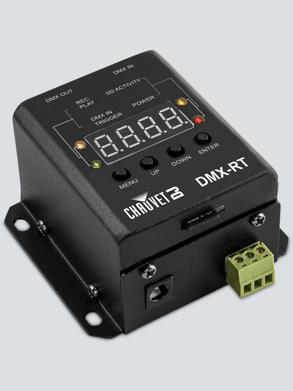 Chauvet DMX-RT Compact DMX Recorder With Triggerable Playback