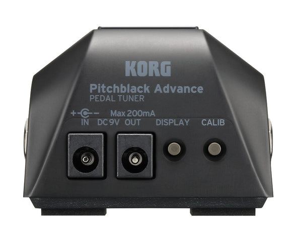 Korg Pitchblack Advance Pedal Tuner