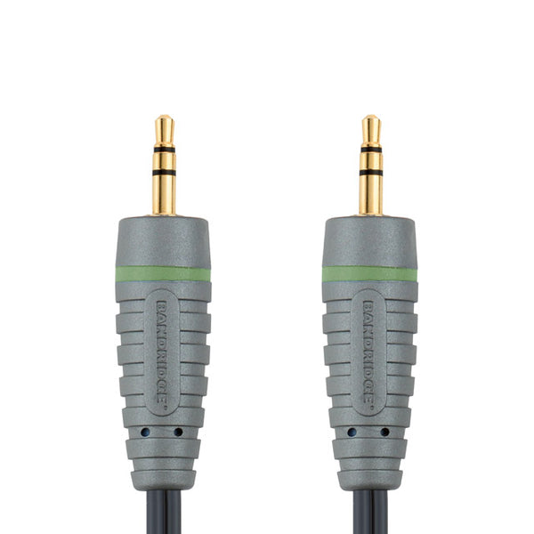 Bandridge 3.5mm Mini Jack to 3.5mm Mini Jack 5.0m