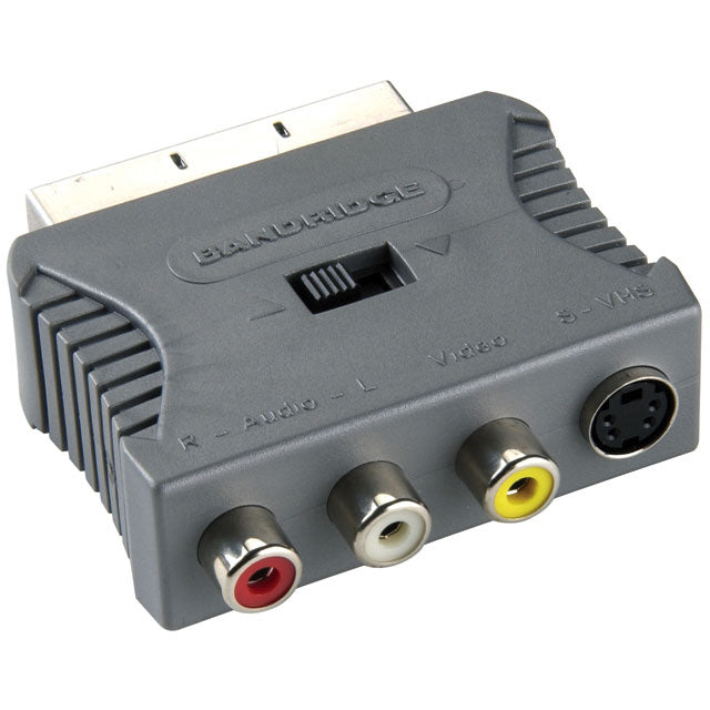 Bandridge Scart Audio Video Adaptor