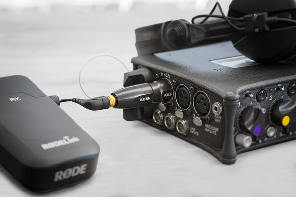 Rode VXLR+ Mini Jack to XLR Adaptor with Power Convertor