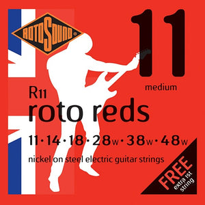 RotoSound R11 Roto Reds Guitar Strings (Medium)
