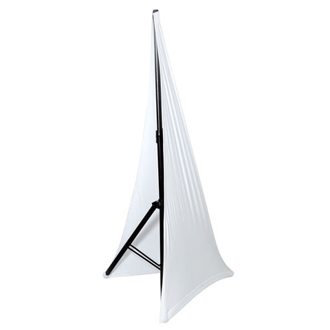 NovoPro SSCRIM2 Two Sided Speaker Stand Scrim (White)