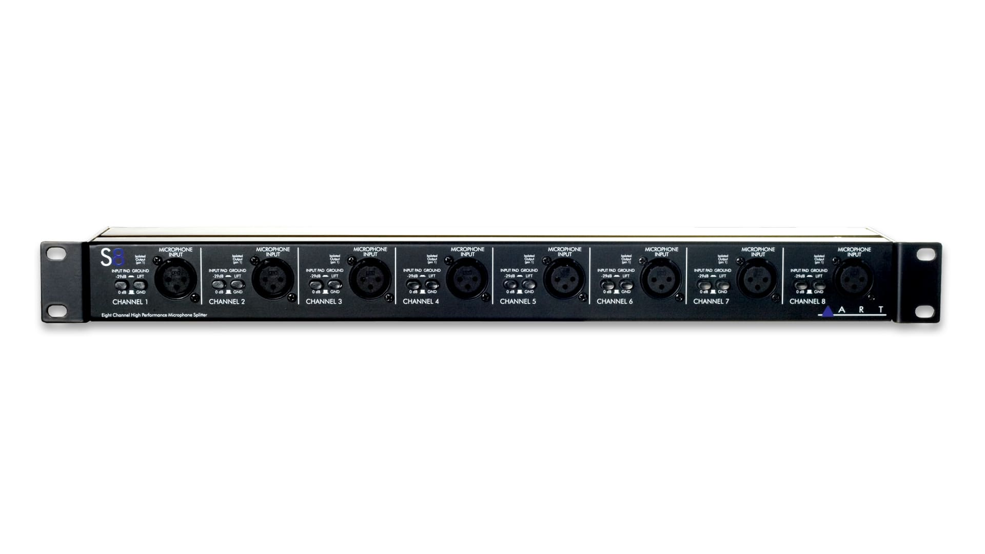 ART S8 8-Channel Microphone Splitter