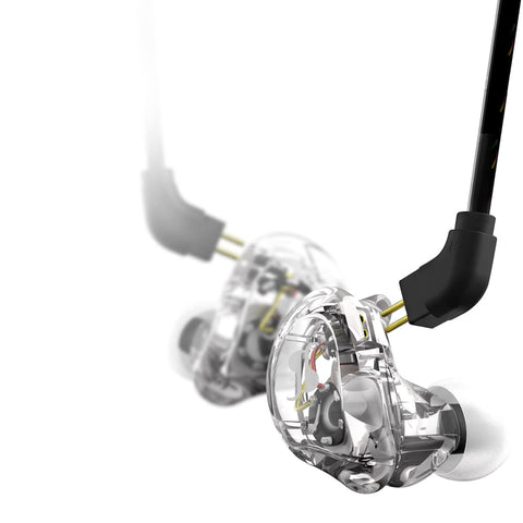 Stagg SPM-235 Dual Driver In-Ear Monitors (Clear)