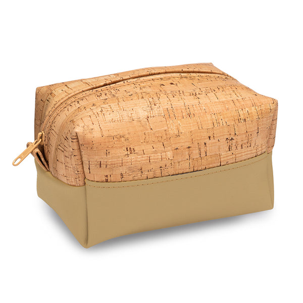 Cork Dopp Toiletry Bag