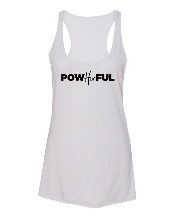 Women's PowHERful Racerback Tank