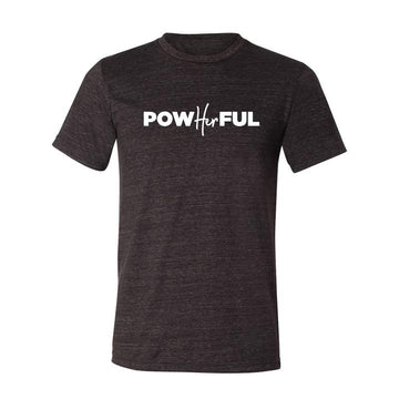 Unisex PowHERful Short Sleeve Tee Shirt