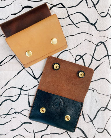 LEATHER WALLET - Snap Wallet