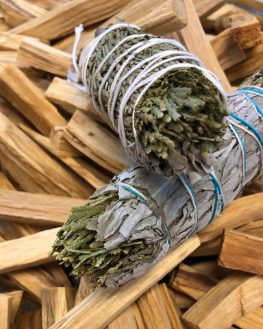 SAGE & CEDAR SMUDGE STICKS