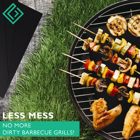 BBQ grill mat for any type of grill