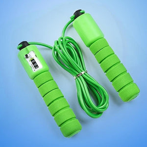 0635 Electronic Counting Skipping Rope (9-feet) - DeoDap