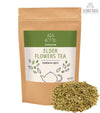Elderberry/Elderflowers (Sambucus nigra) Dried Flowers Herbal Tea (Loose) 3 oz / 90gr wildcrafted botanicals