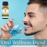 Teliaoils Herbal Blend for Teeth & Gums - Extreme Strength Oral Hygiene Oil- Natural Deep Cleansing Mouthwash / Liquid Toothpaste / Herbal Breath Freshener- Fluoride Free Oral Pain Relief - 10ml