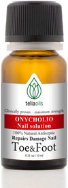 Teliaoils Oregano Healthy Nails Synergy Oil Blend - Maximum Strength Repairing Oil For Toenail Conditions, Discoloration, Yellow Brittle Nails - 100% Natural Solution For Thick, Strong Nails - 0.33 Oz