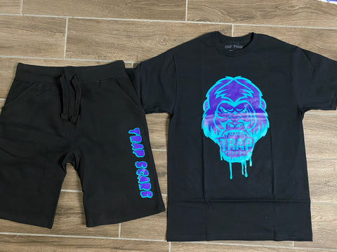 Grape Ape - Trap Scars Tee & Short Set