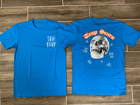 Blue - Trap Rock Tee