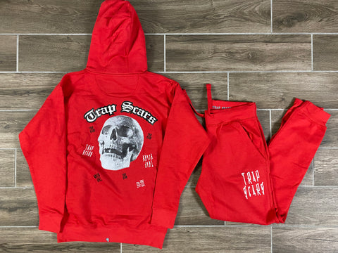 Red - Trap Rock Hoodie & Jogger Set