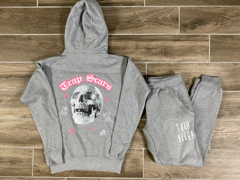 Grey - Trap Rock Hoodie & Jogger Set