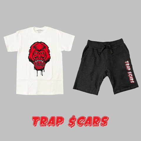 Red Ape - Trap Scars Tee & Short Set