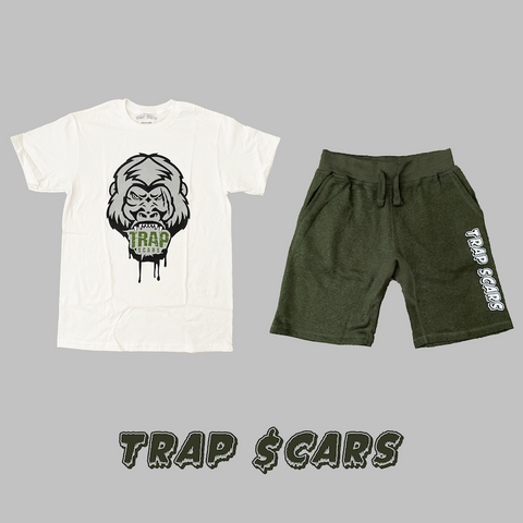 Military Ape - Trap Scars Tee & Short Set