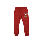 Red - Bear Scars Hoodie & Jogger Set