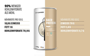 Backprotein Vegan 500g