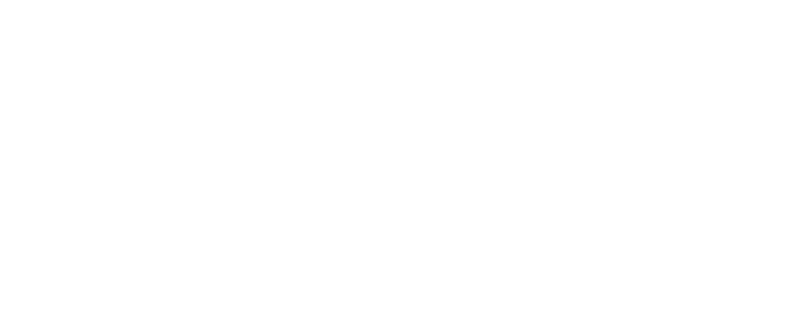 Line illustrations to convey the dimensions of the Aeron Chair. Size B, medium, has a total height of 36.75 – 43.25