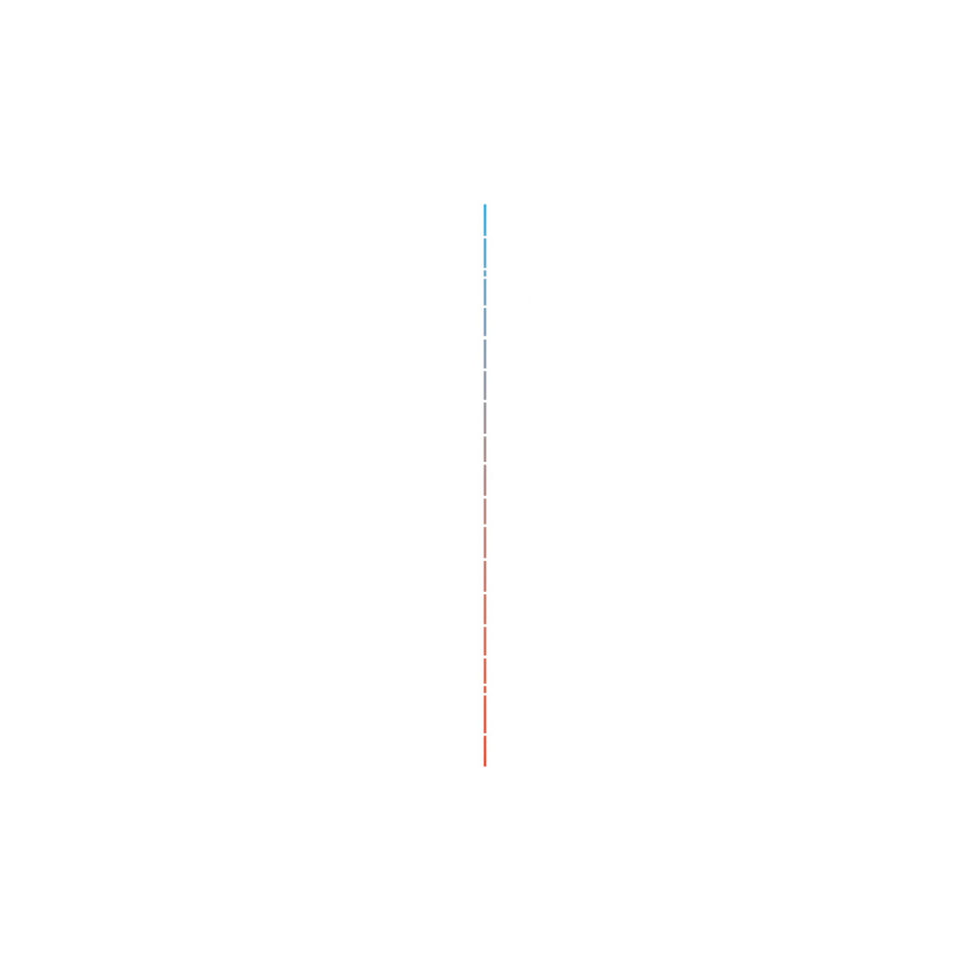 Illustration featuring cylindrical grid with red/blue line showing pressure build-up reduction that encourages healthy movement on black background.