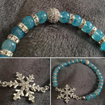 Ice Queen Shimmering Stretch Bracelet