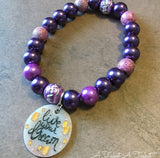Live Your Dream (Rapunzel Inspired) Bracelet