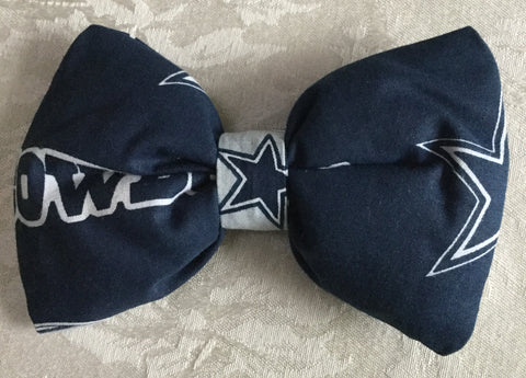 Dallas Cowboys Pillow Hair Bow